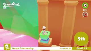 Super Mario Odyssey - Koopa Freerunning Luncheon Kingdom 16.35