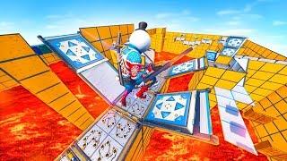 FLOOR IS LAVA PARKOUR CHALLENGE in Fortnite