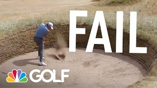 Top 5 fails: The 147th Open final round | Golf Channel