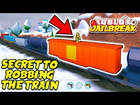 THE SECRET TO ROBBING THE TRAIN EVERY TIME! (Roblox Jailbreak New Winter Update)