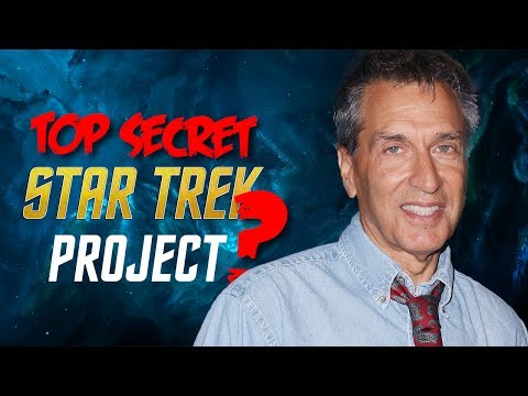Top Secret Star Trek Project?