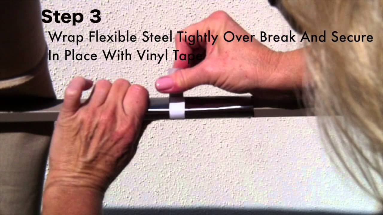 Patio Umbrella Rib Repair For Aluminum Ribs Repair Kit