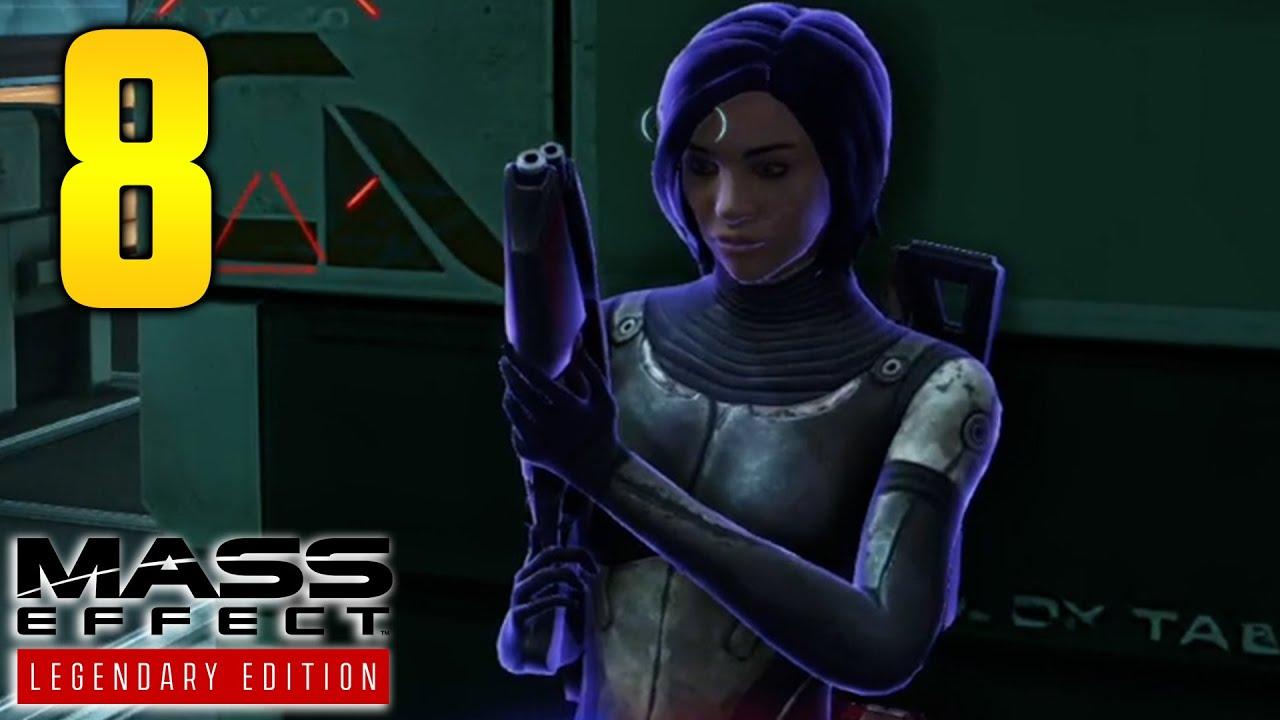 """Mass Effect Legendary Edition Part 8 - """"I WAS NOT PREPARED"""" (Gameplay/Walkthrough)"""