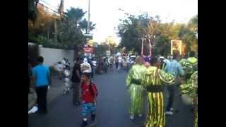 El Grupo de Lechones los ThunderCats poniendo a gozar a todo el mundo en el carnaval 2012