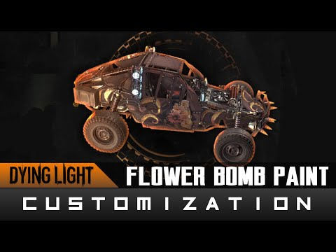 Dying Light: The Following - Flower Bomb Paint Job Location