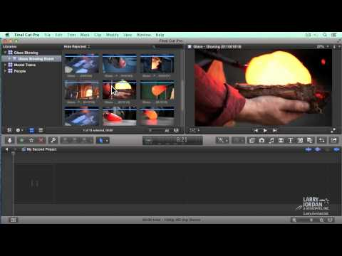 Creating A Project In Final Cut Pro X (10.1)