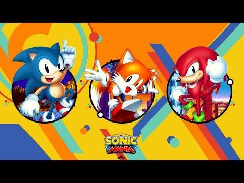 MS Sonic Mania Stream