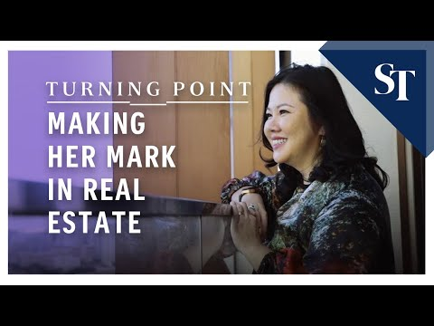 Making her mark in real estate | Turning Point | The Straits Times