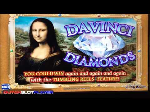 Trying to break Davinci Diamonds bank! HIGH LIMIT $60 bet! Bonus games