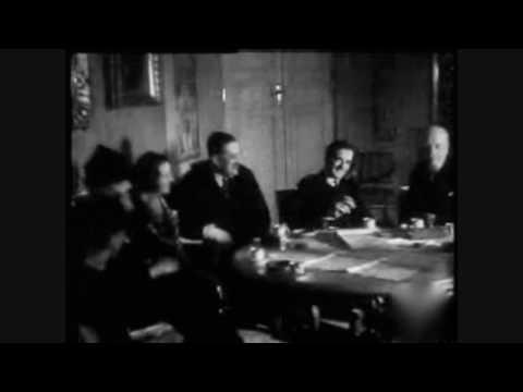 Minister Anthony Eden u Prezydenta Mościskiego - kwiecień 1935
