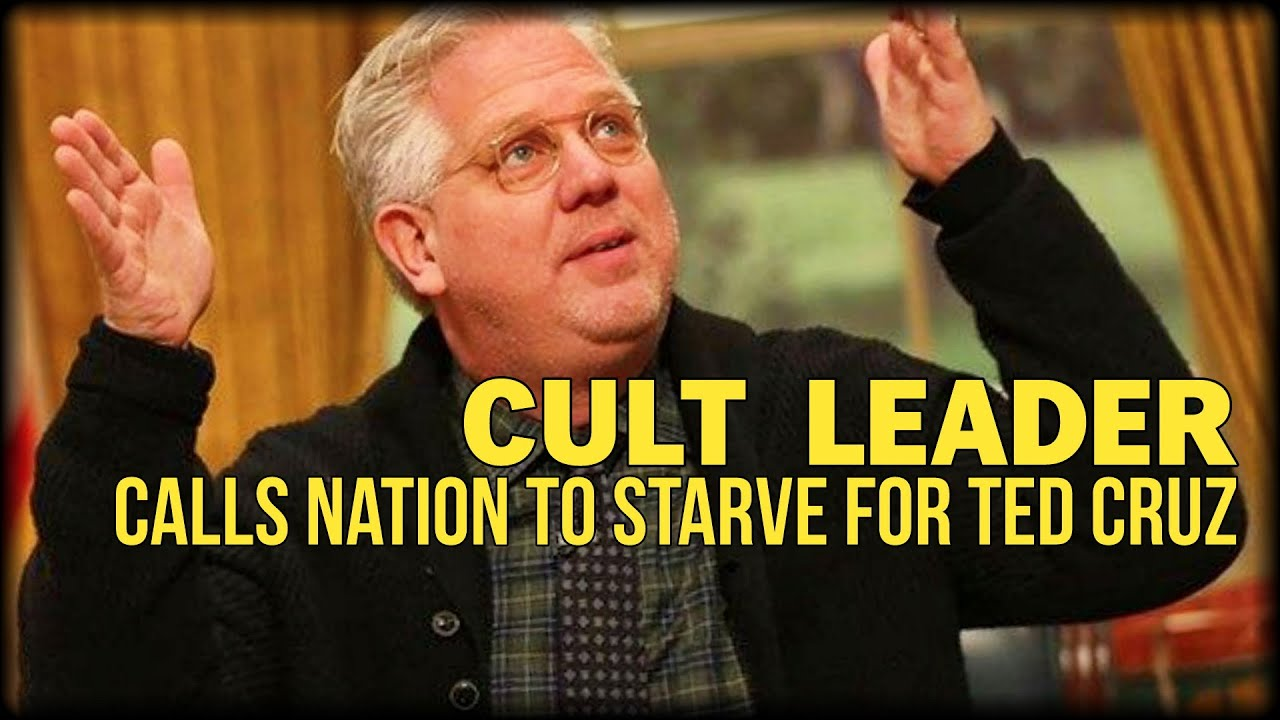 CULT LEADER CALLS NATION TO STARVE FOR TED CRUZ - YouTube