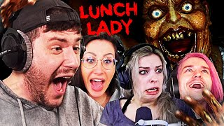 4 Gamer vs LUNCH LADY | feat. Gnu, Shurjoka & Vlesk