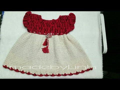 Hướng Dẫn Móc Váy đầm Cho Bé 2 Tuổi - Kiểu 1