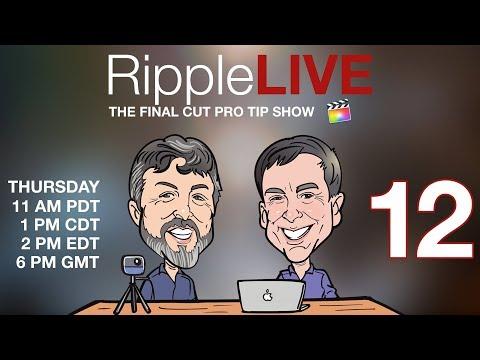 RippleLIVE Episode 12 - YouTube