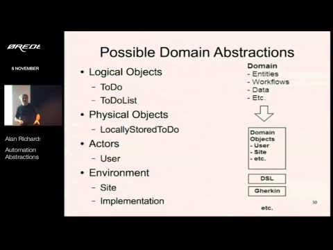 Page Objects Automation Abstractions And Beyond - Oredev 2014