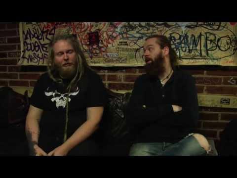 Sólstafir interview - Finland - October 2013