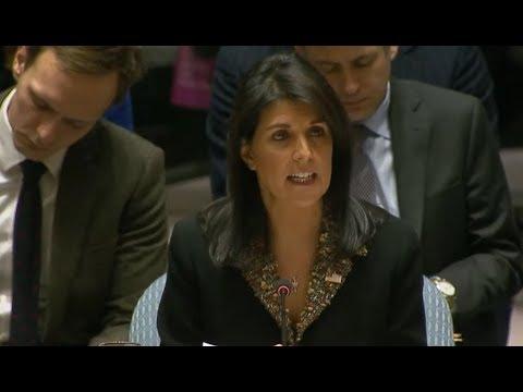 BREAKING: U.S. VETOES  U.N. Resolution to DROP Trump Declaration of Jerusalem as Israel's capital