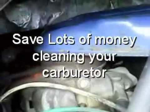 Clean a Carburetor, Without Rebuilding it - This Really Works