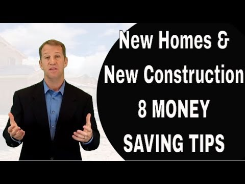 New Construction Homes In Tampa? 8 Money Saving Tips When Buying A New Home In Tampa