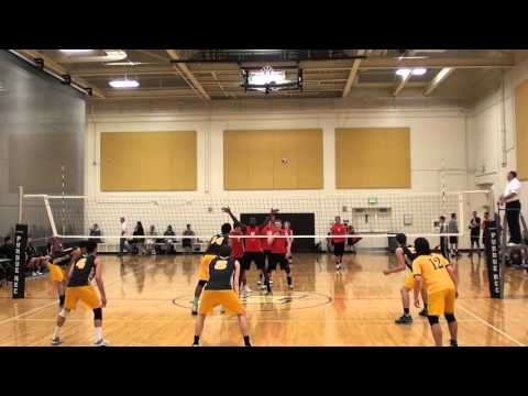 NIU Vs UW-Oshkosh at 2016 MIVAS Gold Semi game 1