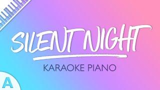Silent Night (Karaoke Piano) Key of A