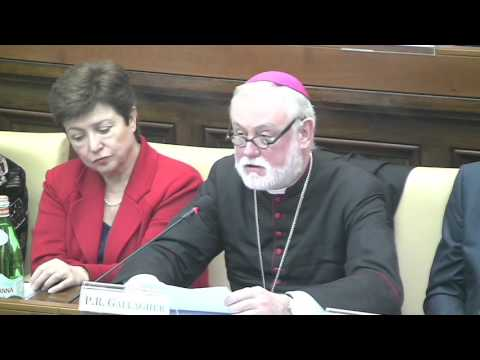 Archbishop Paul Richard Gallagher | 2016 | Reaffirming Global Solidarity, Restoring Humanity