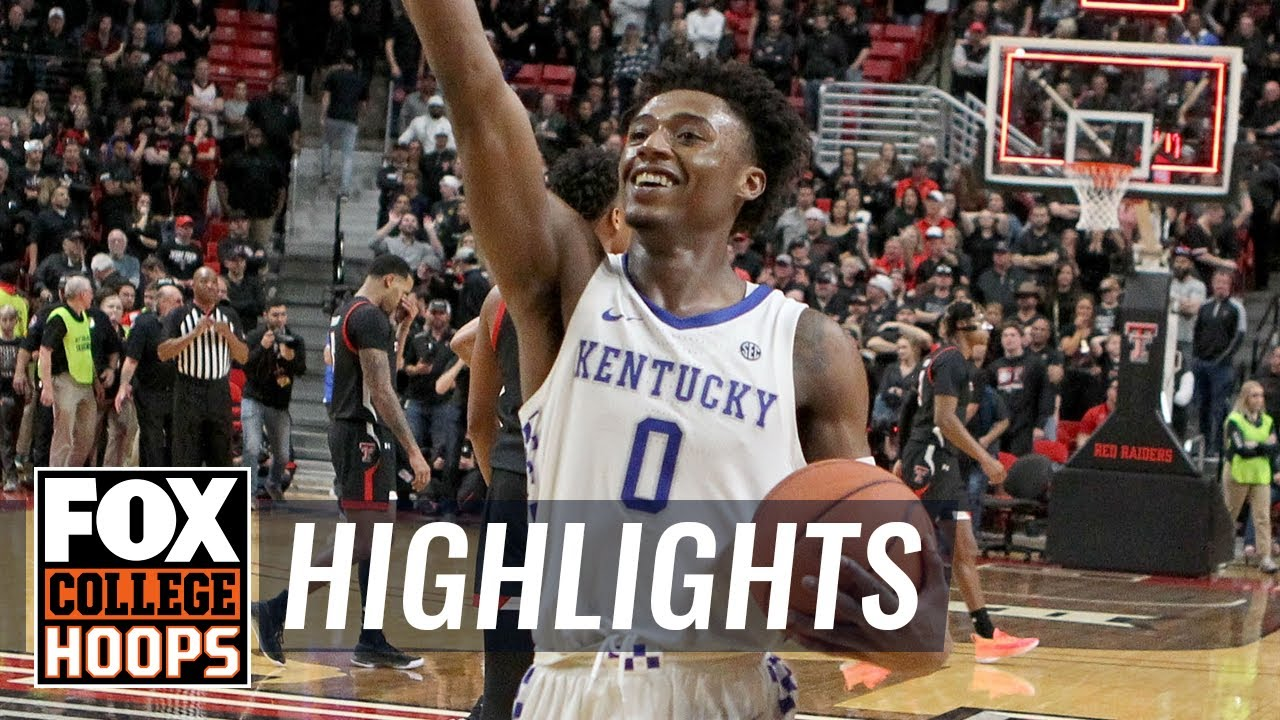 Kentucky goes down to the wire in OT, holds off Texas Tech, 76-74  HIGHLIGHTS