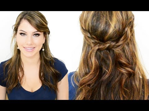Cute Hair Style Cute Twist & Braid Hair Style  Youtube