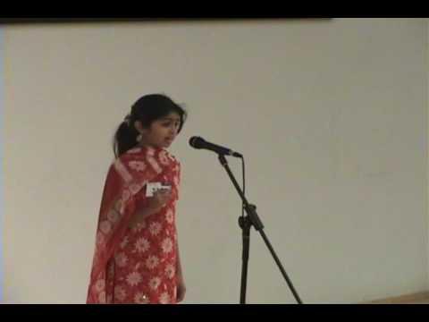 KAGW Talent Time 2009 - Poem Recitation