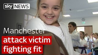 Manchester Attack victim back to fighting fitness