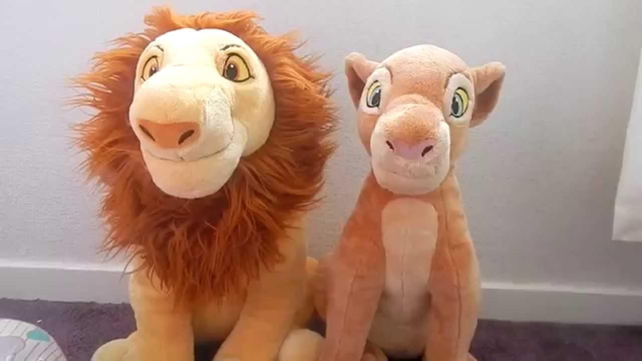 Disneystore Adult Simba And Nala Plush Review Youtube