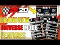 WWE 2K20: NEW FEATURES & IMPROVEMENTS/UPGRADES FOR UNIVERSE MODE