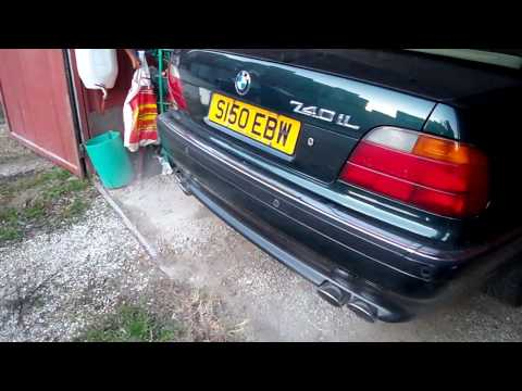 BMW 740 IL (4.4L; V8; 282 HP) With Custom Exhaust