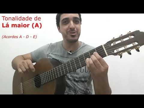 LIÇÃO - COMO MUDAR O TOM DE UMA MÚSICA  curso de violão completo na descrição