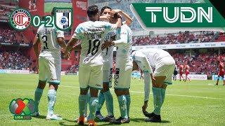 Resumen Toluca 0 - 2 Querétaro | Liga MX - Ap19 | TUDN México