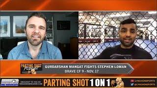 Gurdarshan Mangat talks Brave FC Title Fight, Training at Tristar Gym and Married Life