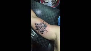 Hình Xăm La Bàn Tại Đỗ Nhân Tattoo Địa Chỉ Xăm Hình Uy Tín Ở TpHCM
