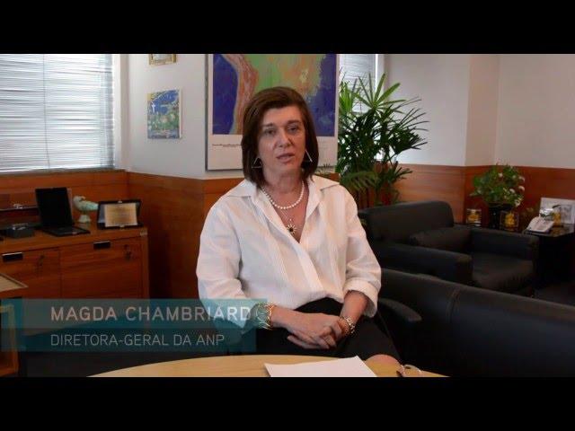 Diretora-geral da ANP Magda Chambriard fala aos consumidores