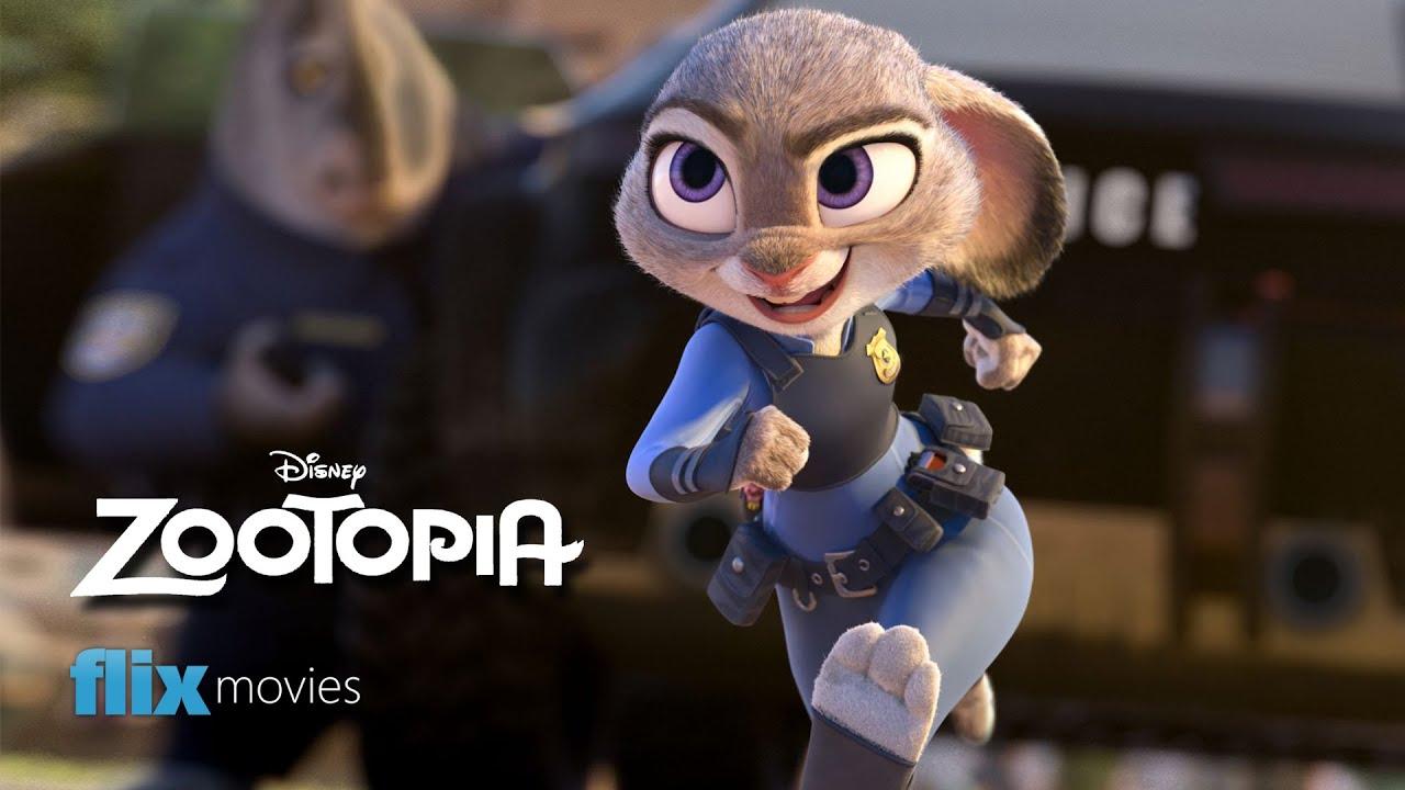 The Animals Of Disney 39 S Zootopia Flix Movies Youtube