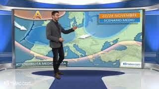 Meteo Italia: la tendenza per lultima decade di Novembre