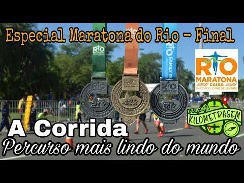 A Corrida - Percurso mais lindo do Mundo!! Especial Maratona do Rio - Final