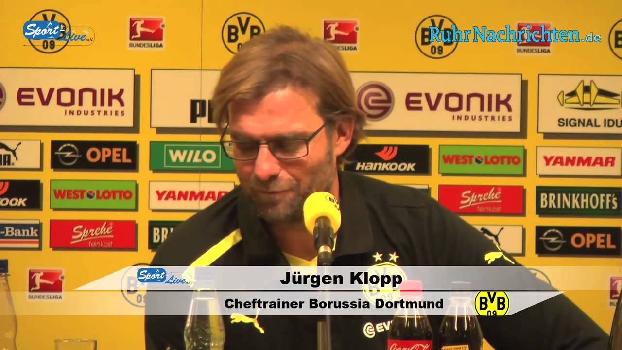 BVB Pressekonferenz vom 17. November 2012 nach dem Spiel Borussia Dortmund gegen Greuther Fürth
