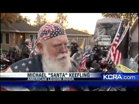 Bikers Rally to Ride With Boy After School Banned American Flag