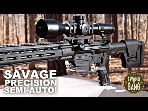 Savage Precision Semi-Auto!  MSR 10 Long Range