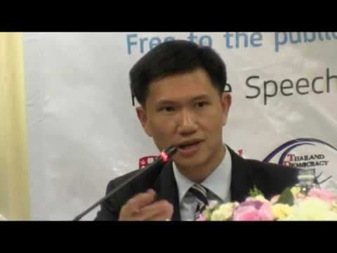 Thitinan Pongsudhirak : No Exit: Elections and Democracy in Thailand