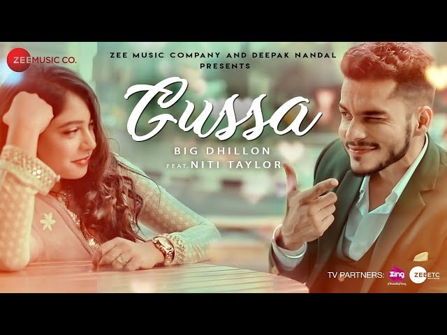 Gussa - Official Music Video | BIG Dhillon Feat. Niti Taylor