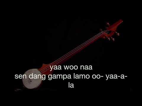 Ganpa Lhamo Nangma track instumental karaoke