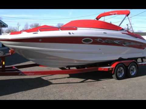 2006 Crownline 240 EX Deckboat for sale in Angola, IN