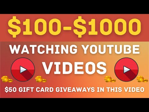 MAKE $100 PER HOUR Just By Watching YouTube Videos! PayPal Payout! (Make Money Online)