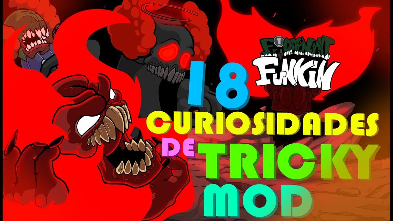 18 CURIOSIDADES sobre Vs TRICK MOD! Friday Night Funkin - FNF